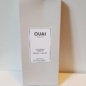 Ouai Haircare - treatment masque  3 packets of 9 ml.  Aldrig brugt, men selve pakken har fået lidt tryk - men selve pakkerne med maskerne fejler ingenting.