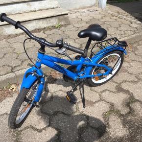 Mustang drengecykel. 16 tommer.  Pris ide 50 kr til cykelrytteren, der ønsker at købe lego