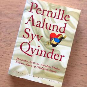SYV KVINDER af Pernille Aalund.  7 fortællinger om 7 meget forskellige kvinder, der alligevel har forbindelser. Helt almindelige kvinder og alligevel helt usædvanlige - som vi jo er :-)  Bogen bliver mere og mere fascinerende, jo længere man læser.  236 sider. Paperback.  Sælges for kun 30 kr. + evt. porto.  Kan afhentes på Frederiksberg.