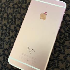 Rosegold IPhone 5S virker perfekt men glasset har revner