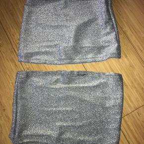 2x glitter toppe  Str. - One size/(Svarer til en S)