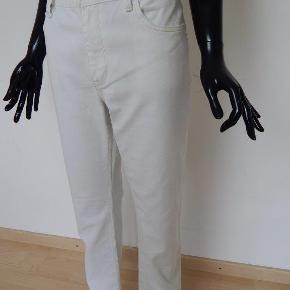 """Ralph Lauren Jeans 32/32"""" hvide, straight leg, bomuld Mål: livvidde 94 cm, indv skridt 82 cm"""