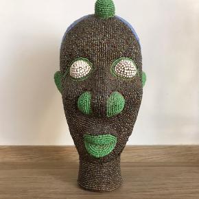 Flot traditionelt marrokansk perle-hoved. Købt i Marrakech. Stor størrelse, rigtig god stand
