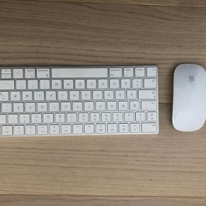 Sælger sættet med mus og tastatur. Jeg har også opslag med delene enkeltvis, så endelig skriv hvis kun en ting frister.