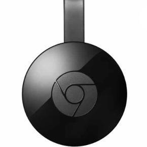 Chromecast fra Google til fjernsynet. Den er købt i Elgiganten til 320 kr., og original kvittering medfølger.  Sælges for 200 kr.