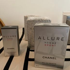Moving out sale ,   Apparently we cannot bring all this perfumes anymore with us. It's new and never been open or used. So I'm selling it. 😊😇😍   Allure Chanel stick Deodorant 75ml- 200kr  3 Allure Chanel perfume 100ml- 500 kr each