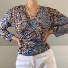 Vintage leopard trøje