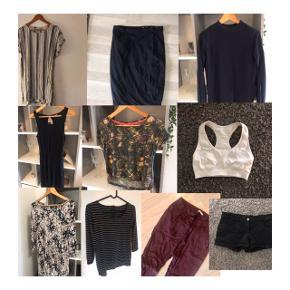 Tøjpakke  10 stk tøj for 100 + Porto.  Passer small