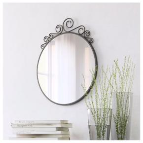 Virkelig fint spejl fra IKEA. Fejler ingenting. Kan afhentes i Aalborg ☀️  Bredde: 50 cm Højde: 60 cm Diameter 50 cm