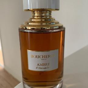 BOUCHERON Eau de parfum 125ml Prøvet et meget lille pift  Uden papæsken Bytter ikke