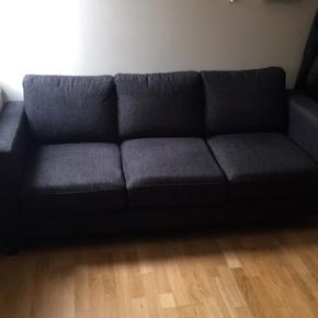 Sælger denne sofa, den er brugt, men har ingen pletter.  Længde: 185 cm  Bredde: 80 cm  Højde: 80 cm