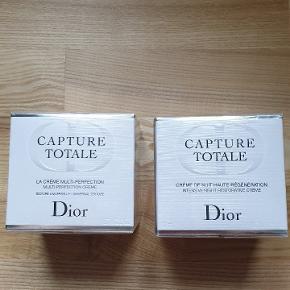 Helt ny plomberet dag og natcreme fra Dior sælges for 700 kr pr.stk. Np pr. stk over 1300 kr