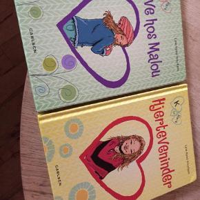 2 stk bøger. Handler via mobilepay og sender med coolrunner. Børnebøger Farve: Multi