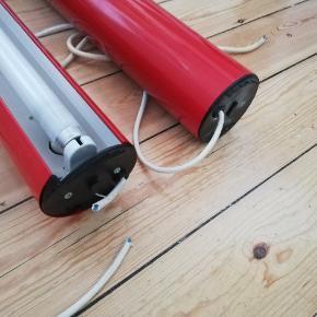 2 stk lamper Diameter 9 cm Længde 95 cm