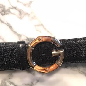 Pænt Gucci bælte sælges Har naturlige brugsspor