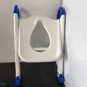 Toilettræner med trappe, toiletstol til børn