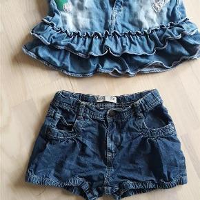 Varetype: Nederdel Farve: Forskellige  Nederdel koster 28 kr og shorts koster 16 kr.   Sendes som pakkepost via DAO.