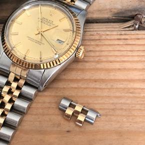 Ét enkelt led til 16013 og 16233 evt flere datejust modeller i guld og stål
