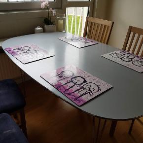 Spisebord 160×100 Sofabord med tillægsplade 120x80 og 40x80 byd byd byd