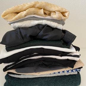 Lykkepose med blandt andet Malene Birger kjole og gestuz kjole. Assorteret med kjoler, bluser, Strik str xs-s