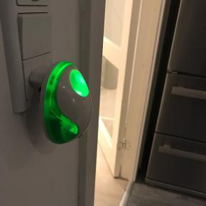 2 stk. vågelamper med grønt lys til børneværelset. 6700/Rørkjær