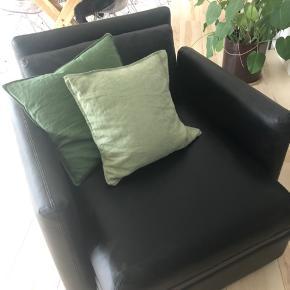 Lænestol der kan laves om til seng
