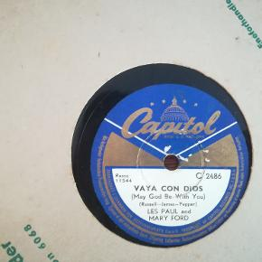 Lakplade med Les Paul and Mary Ford