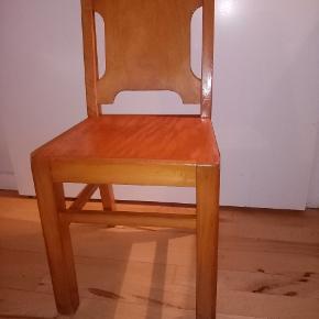 Børnestole Siddehøjden 36 cm Dansk design fra 1968