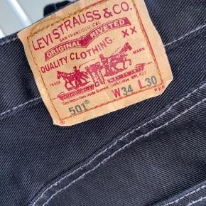 Fede levis 501 med contrast stitch