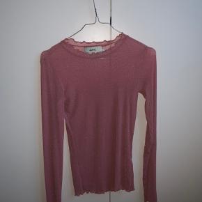Smuk lyserød mesh-bluse 🎀