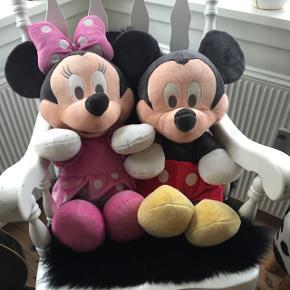 Mickey og Minnie Mouse