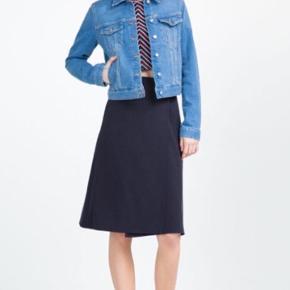 Denimjakke fra Zara - mere blå i virkeligheden! Så smuk