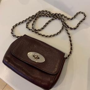 Mulberry Lily Mini Leather Shoulder Bag, Oak - næsten ikke brugt, og lige så fin som ny. H12 x W15.5 x D6 cm