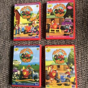 Traktor Tom dvd'er 15,- pr stk eller alle for 50,-