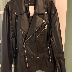 H&M skind- & læderjakke