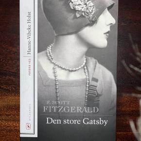 Den store gatsby af F. Scott Fitzgerald I er velkomne til at byde:)  Forbeholder mig retten til IKKE at sælge, hvis rette bud ikke kommer.