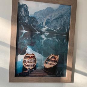 Sælger disse flotte billeder med ramme (str 50x70)