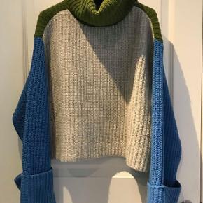 Skøn sweaters. Limited edition. Str s/m. Aldrig brugt. nypris 650.- Hentes i Rungsted. sender gerne