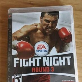 PlayStation 3 spil Fight Night round 3 -fast pris -køb 4 annoncer og den billigste er gratis - kan afhentes på Mimersgade 111 - sender gerne hvis du betaler Porto - mødes ikke andre steder - bytter ikke