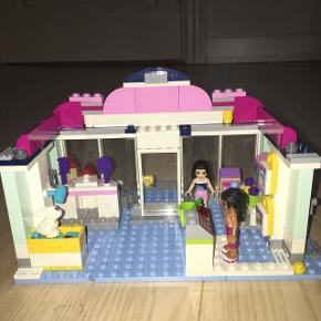 Flot og velholdt Lego Friends Heartlake Pet Salon Ikke ryger hjem