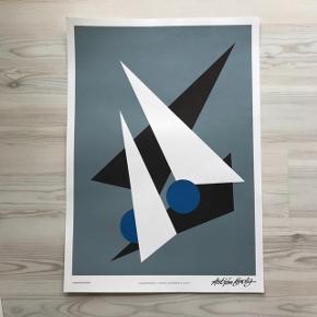 Asbjørn Lønvig Plakat  50x 70 cm