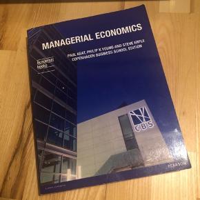 Managerial Economic af Paul Keat et al. Ingen overstregninger.