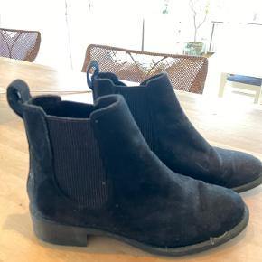 H og m støvler, gode, flotte, brugt få gange.