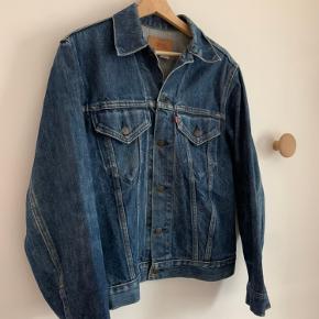 Vintage made in USA Levi's denim jacket.