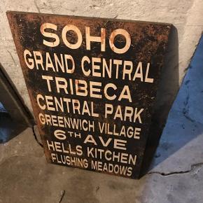 SOHO billede i hård plast❗️  100x45cm