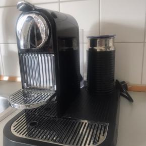 Sælger min fine nespresso maskine, da jeg har fået ny. Den fejler intet. 😊 Garantien er udløbet, men jeg har stadig kvitteringen.