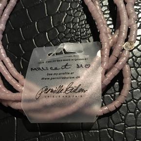 Lyse lilla halskæde fra Pernille Bülow 🌺