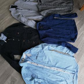 Skjorter fra str. 12-16 år. Sælges for 50 kr. STK. Spørg for mærke og størrelse. Nogle kun vasket, andre brugt en enkelt gang.