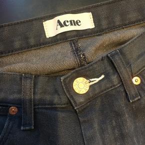 Fine jeans fra Acne Model MAX / Col. Thunder Str. 31/34 Brugt få gange Mørk grå-blå farve