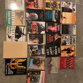 Blandet bøger.  30kr stk.